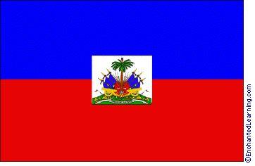 Haiti's Flag Printable