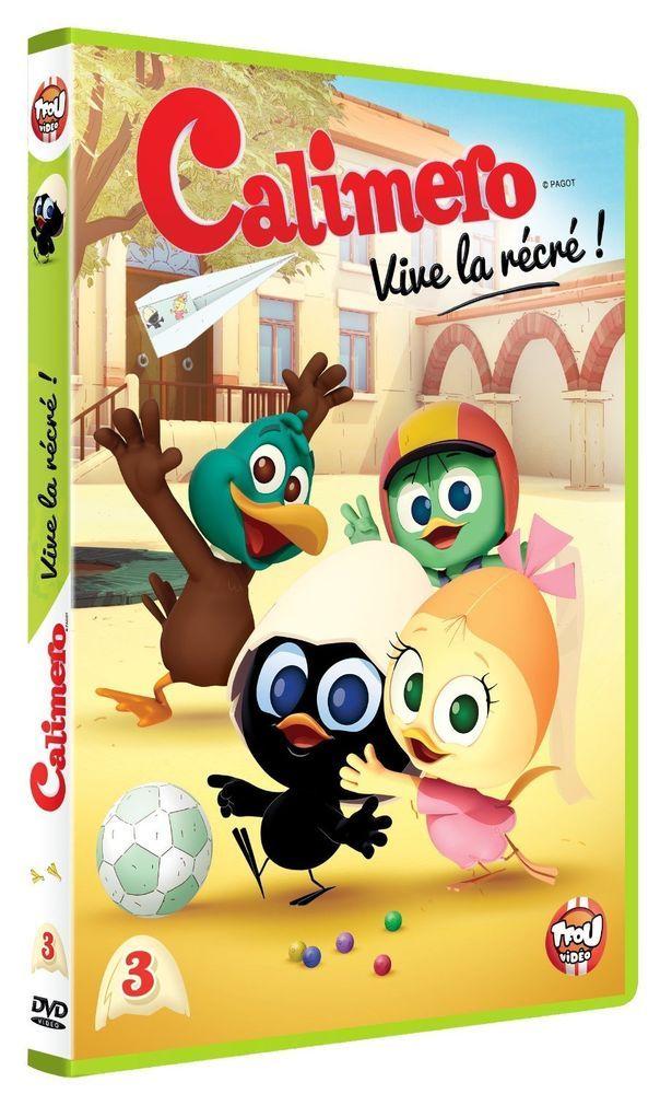 Calimero (nouvelle série) - 3 - Vive la récré ! - DVD