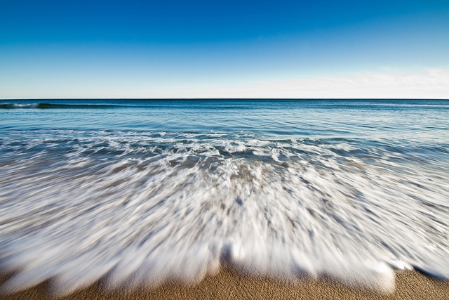 Watch Hill beach, Rhode Island