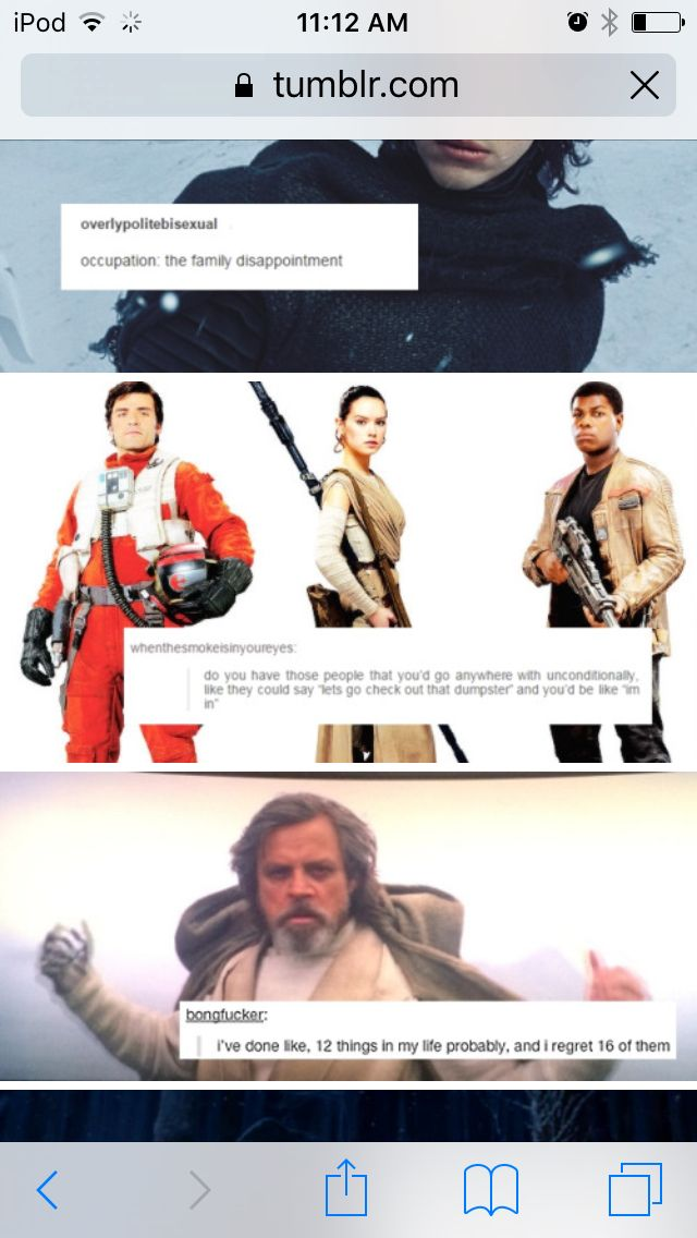 Slight spoiler Star Wars the force awakens and text posts
