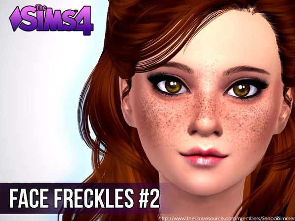 Face Freckles #2 by SenpaiSimmer at TSR via Sims 4 Updates #Sims4