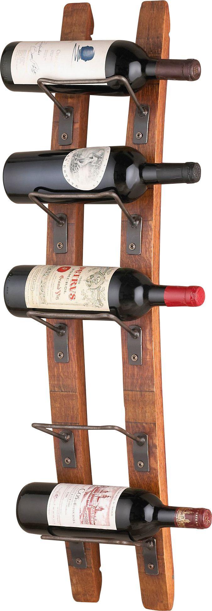 Best 25+ Wall mounted wine racks ideas on Pinterest   Wood ...