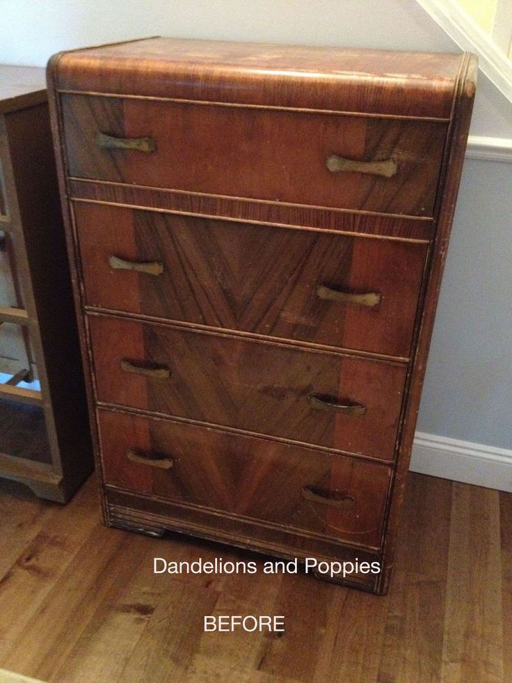 A Sad Art Deco Dresser Rescued by the Dresser Fairy