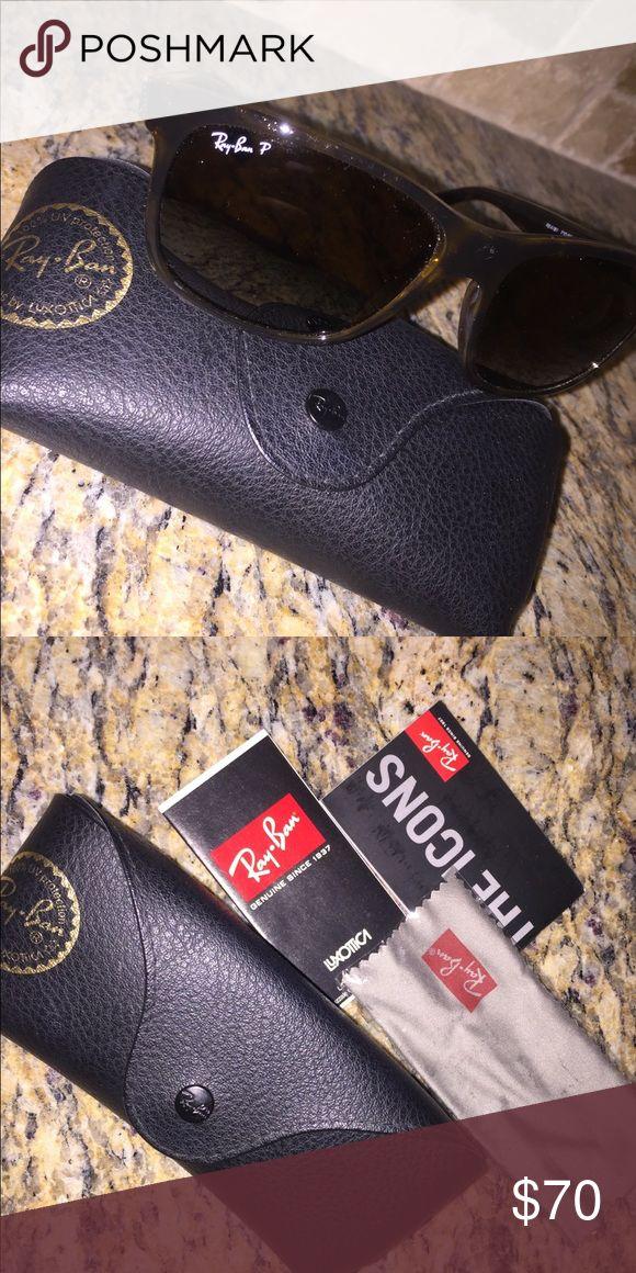 Ray-Ban Sunglasses Polarized Brand new Ray Ban Wayfarer Sunglasses- Brown Gradient Lenses Ray-Ban Accessories Sunglasses