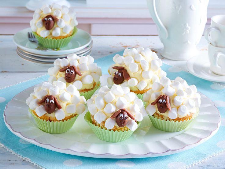 Schäfchen-Muffins