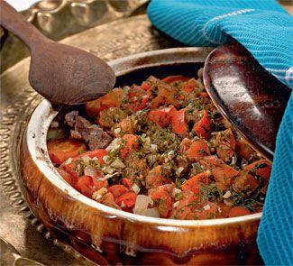 Чанахи (баранина с овощами в горшочке)