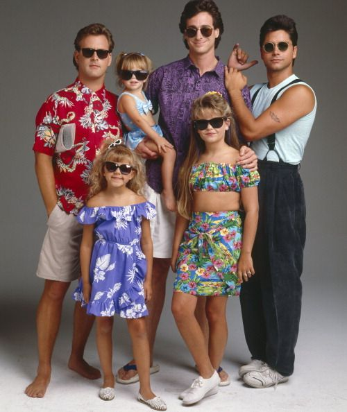 Full House - Late 80s. I think I have seen those outfits around Lyndale Ave lately