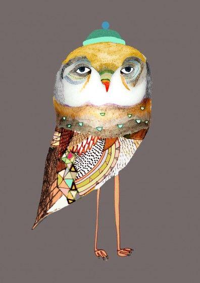 De allerschattigste illustraties van uilen