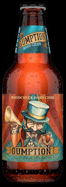 mybeerbuzz.com - Bringing Good Beers & Good People Together...: Woodchuck Hard Cider Unveils New Gumption Cider