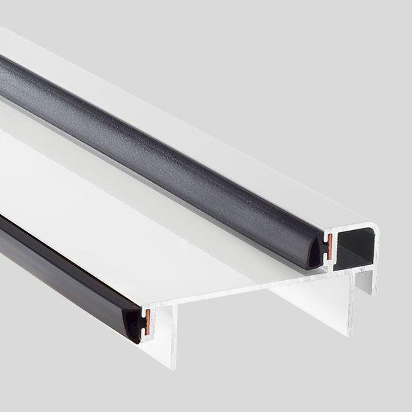 Puerta Acorazada #Thor20 Perfiles de aluminio con burlete doble: Blanco http://www.cabma.es/puertas-seguridad/thor-20/