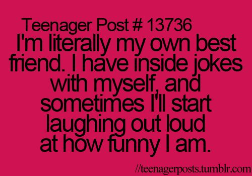 Me like me.