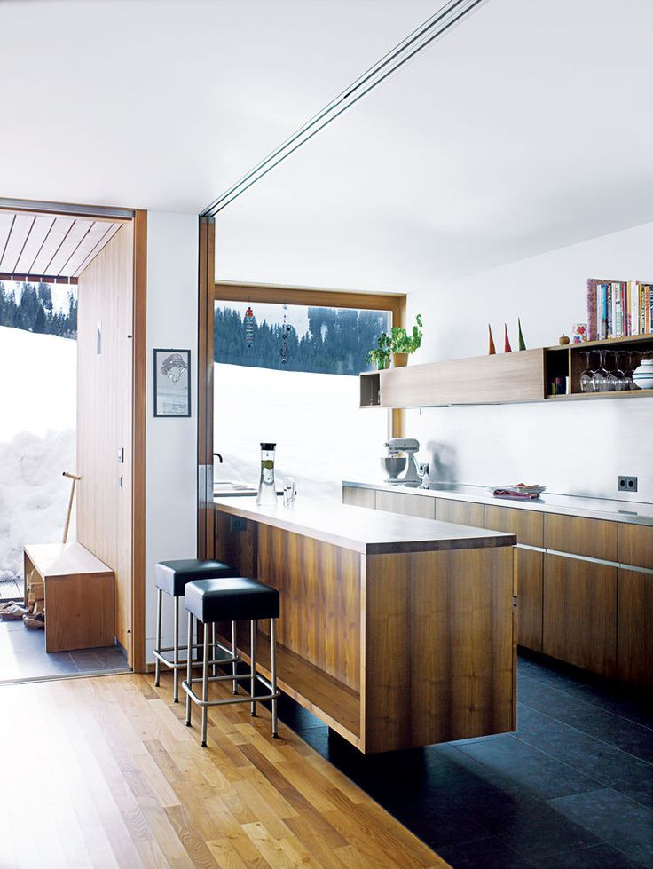 The kitchen is the only zone of the house without protective shutters ...