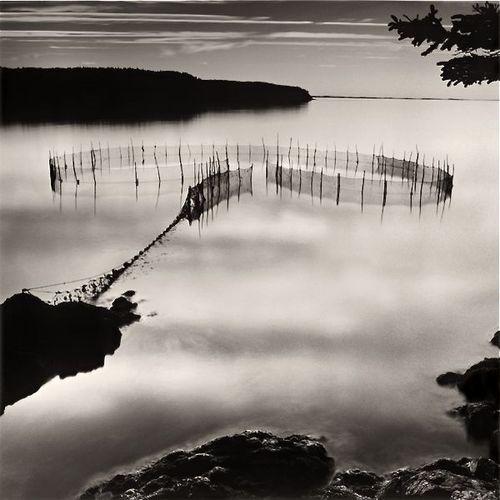 Lisa Tyson Ennis  Fishing Weir at Night, Grand Manan Island
