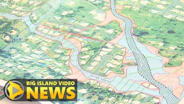 FEMA Flood Maps Meeting In Hilo (July 12, 2017)