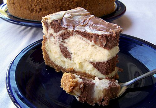 Black and White Chocolate Cheesecake Supreme by Back to the Cutting Board, via Flickr
