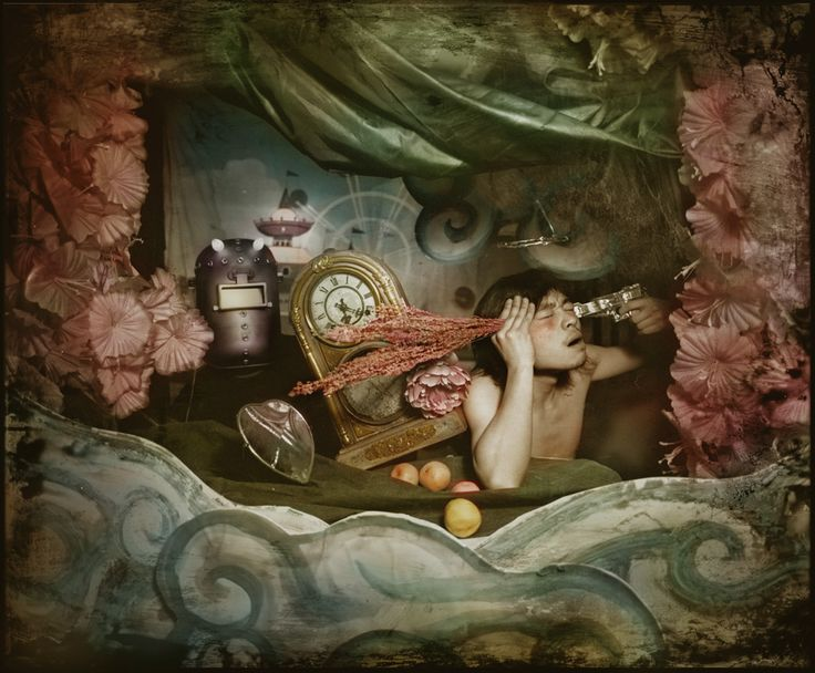 Like Joel-Peter Witkin crossed with cotton candy: photography by the Chinese artist Maleonn.