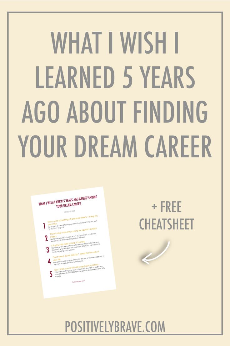 There are a lot of things that I learned over the last couple of years when it comes to finding my dream career. My path was certainly bumpy and I had a lot of trials and errors before I found myself the perfect career. I share my story and the lessons I've learned the last 5 years about finding your dream career.