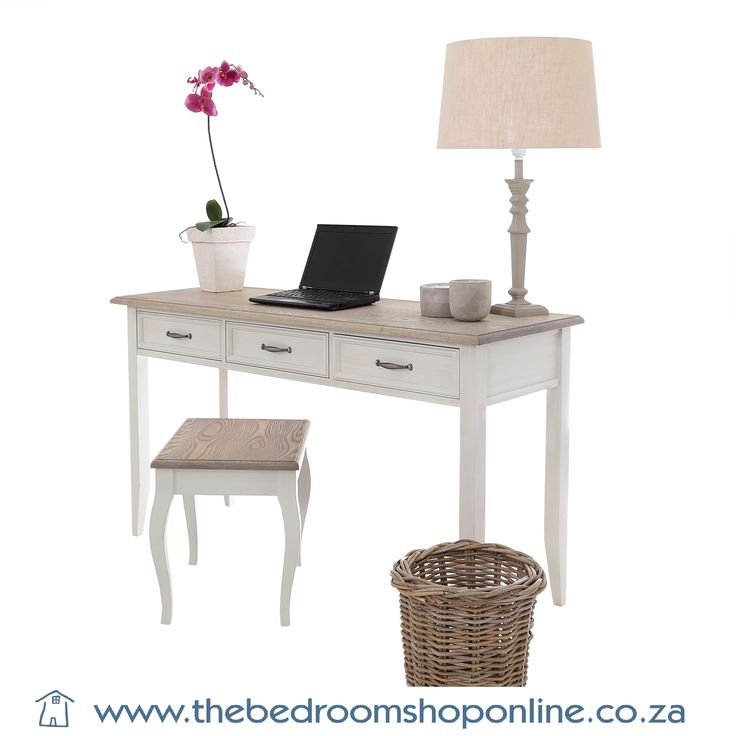 #CreativeSanctuaryWriting desks, dressers and stools available at The Bedroom Shop Online