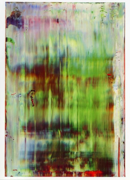 Gerhard Richter: Fall Collection, Paintings Art, Love Art, Art Paintings, Abstract Green, Paintings Abstract, Green Red, Gerhard Richter, Red Paintings