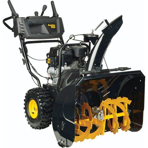 Best Selling Snow Blowers:  Poulan PRO PR270 961920090 Two Stage Electric Start Snow Thrower 27-Inch 208cc