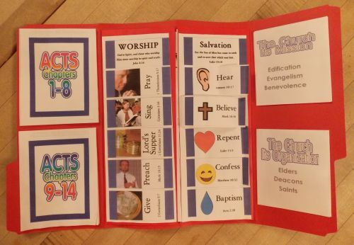 The Church Begins — Project Folder | Bible Songs And More