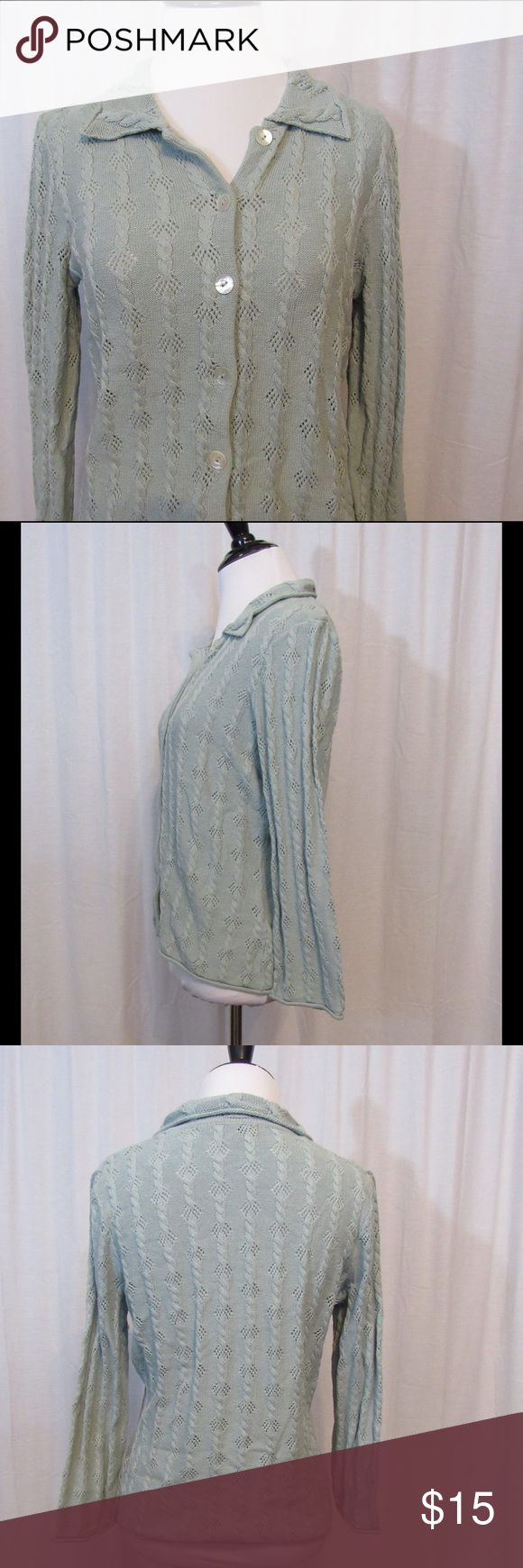 "Boden Light Blue Silk Blend Cardigan Top 10 -Light Weight - 3/4 sleeves  Brand: Boden Size: 10 Color: Blue Material: 55% Silk 45% Cotton Care Instructions: Hand Wash  Bust: 38"" Sleeves: 19"" Length: 23""  Buy more save more! Bundle discount! No trades.   All clothing is in excellent used condition. All clothes have been inspected and unless otherwise noted have no rips, holes or stains.   Cont: P22 Boden Tops"