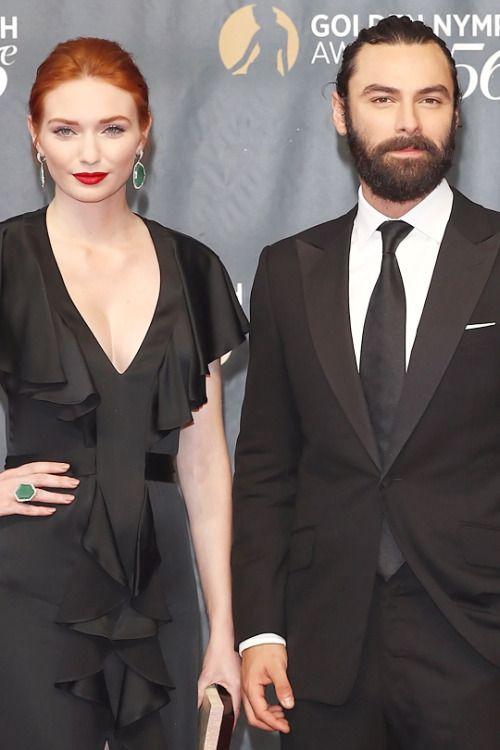 Aidan & Eleanor at The Golden Nymph Awards