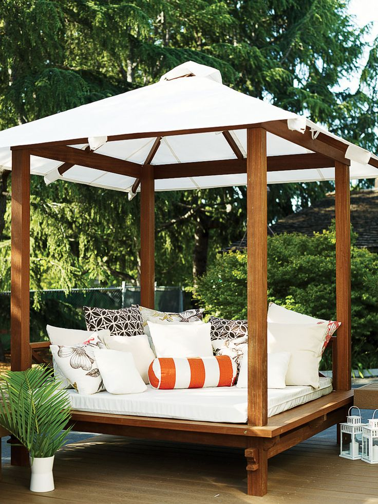 Buy a daybed | Create your own curl-up space on a patio, deck, or private cabana
