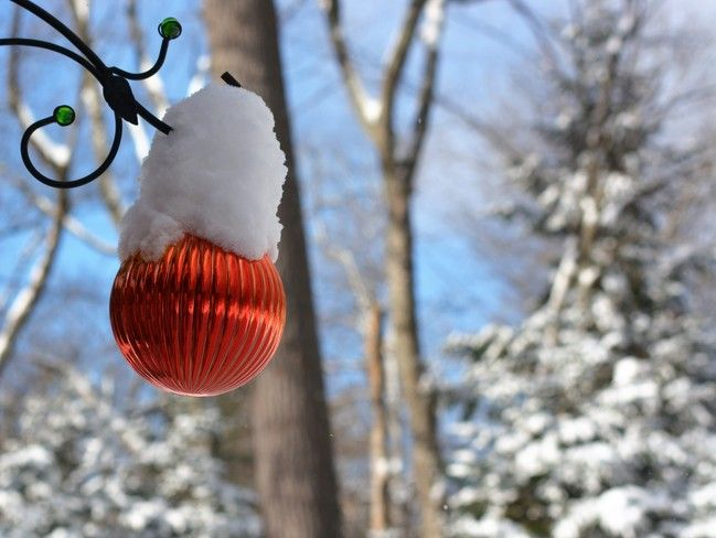 Snowy Decoration for Christmas! Cantley, QC