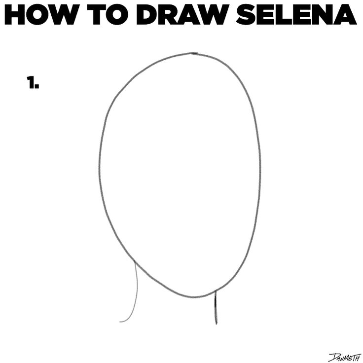 How To Draw Selena In 5 Easy Steps
