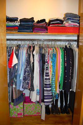 17 Best Ideas About Dorm Closet Organization On Pinterest