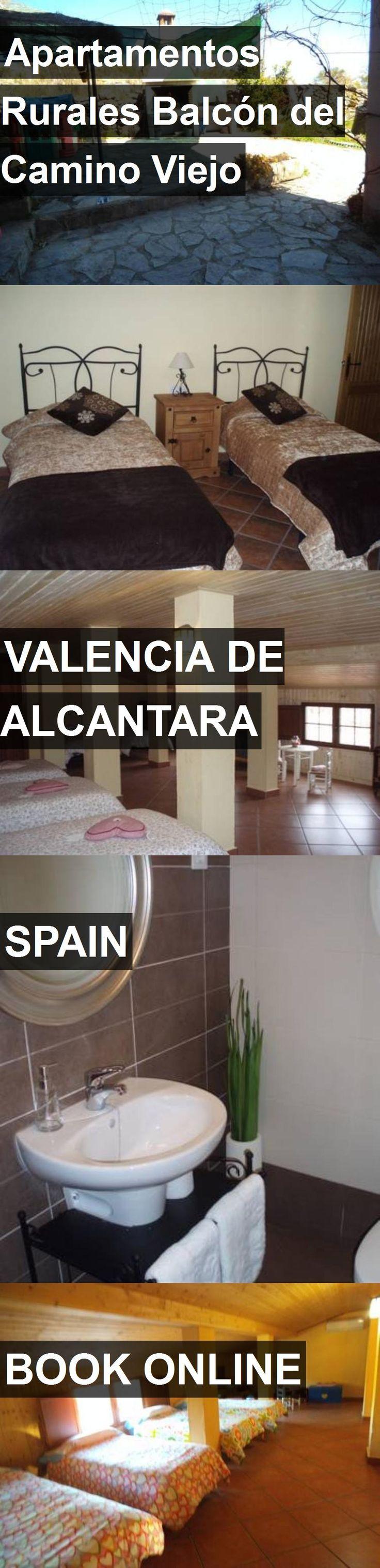 Hotel Apartamentos Rurales Balcón del Camino Viejo in Valencia de Alcantara, Spain. For more information, photos, reviews and best prices please follow the link. #Spain #ValenciadeAlcantara #travel #vacation #hotel
