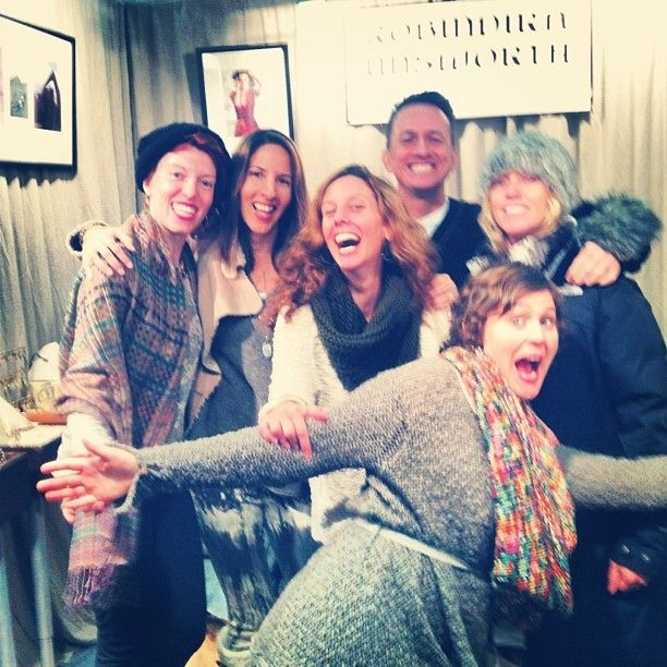 Team Robindira Unsworth NYC...I love these guys! @kristiharrisshowroom @megandolbee @dalenyc @alexandrassiegel @sarahswift
