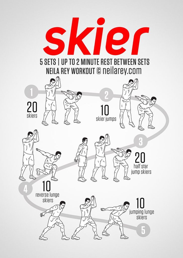 Skier Workout