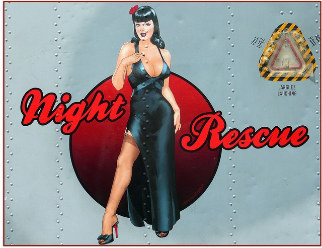 Night Rescue - an attractive nose art piece