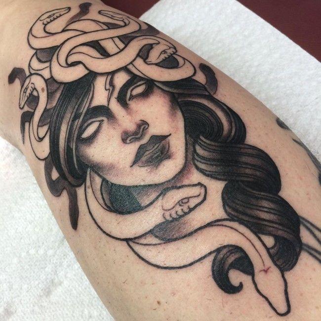 medusa tattoo 22                                                                                                                                                                                 More