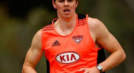 Essendon's father-son recruit Joe Daniher believes the AFL experience of his older brother Darcy has provided him with perspective on the eve of his NAB Cup debut.