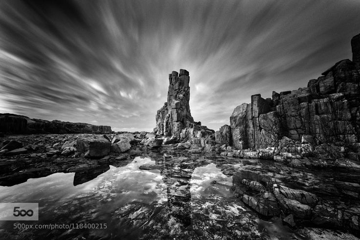 Before Midnight - Pinned by Mak Khalaf Facebook : Aegir Photography Late night at Bombo quarry near Kiama on the south coast of NSW Australia. Nikon D800 & Nikkor 14-24mm. PP in PS CC using Nik Software and luminosity masks. Landscapes australiabasaltbombocloudscolumnkiamalandscapelong exposurequarryreflectionrockskywall by GlennCrouch