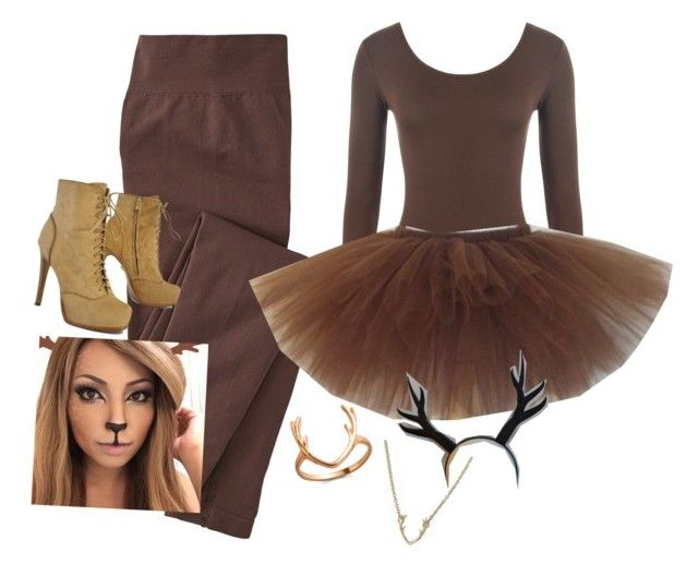 """""""Halloween costume!"""" by cailinm2003 on Polyvore featuring WearAll, Pour La Victoire and Gemelli"""