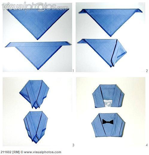 How To Make Table Napkin Designs easy steps paper napkin folding instructions create festive tischedeko Best 25 Fold Clothes Ideas On Pinterest