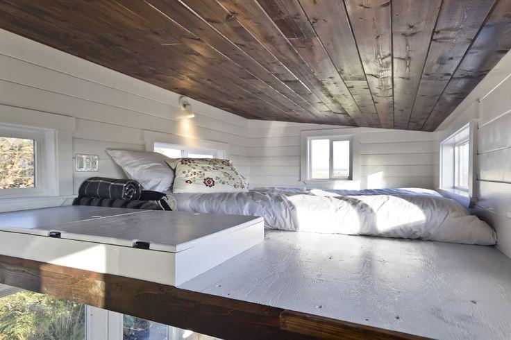 Sleeping Loft | Tiny Home | Tiny Living Ltd.