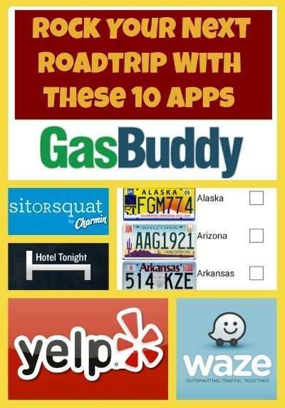 Rock Your Next Roadtrip With These 10 Apps