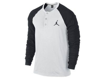 Jordan Long-Sleeve Men's Henley Shirt