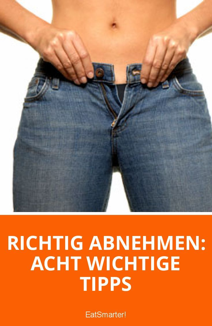 Richtig abnehmen: acht wichtige Tipps   eatsmarter.de