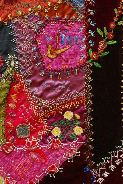 Crazy Quilt by Robyne Melia