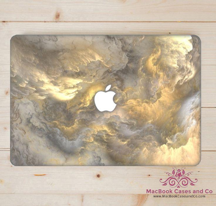 Lightening MacBook Case. MacBook Case. Top (printed) and Bottom (clear) Hard…