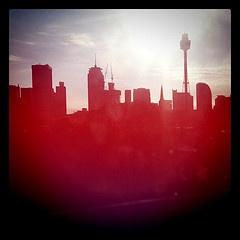 #Sydney city skyline