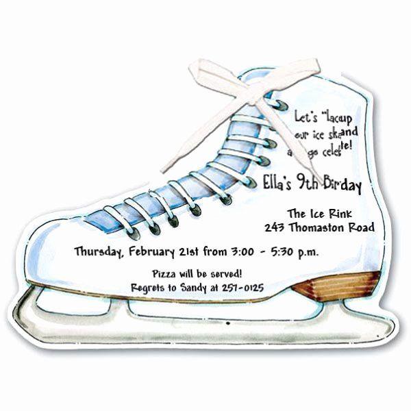 skate party invitation wording elegant
