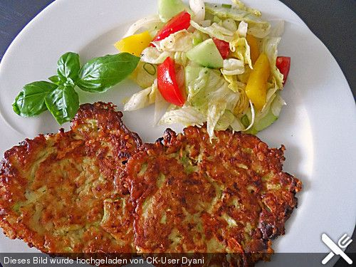 Zucchinipuffer, ein sehr schönes Rezept aus der Kategorie Gemüse. Bewertungen: 309. Durchschnitt: Ø 4,3.