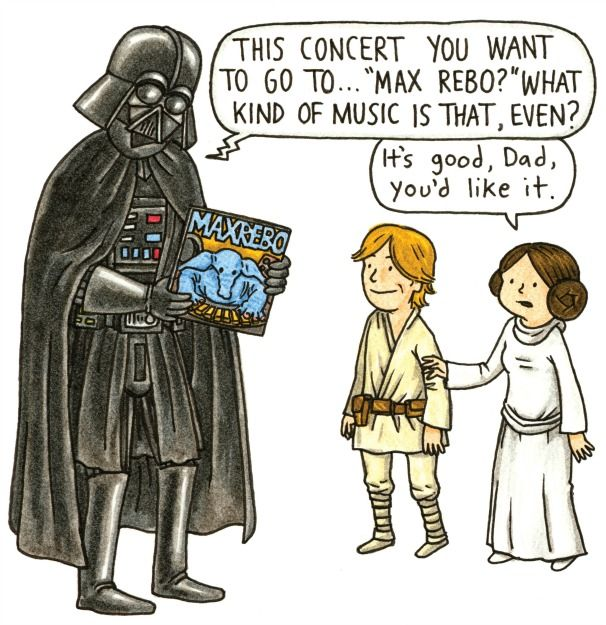 DARTH VADER AND SON by Jeffrey Brown. Grades 3-5